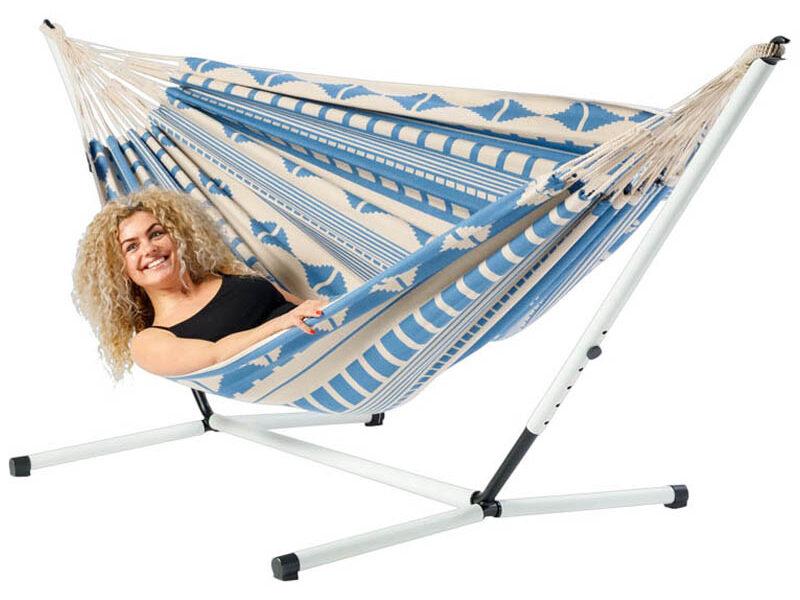 Hangmat Ibiza Sea met stalen frame