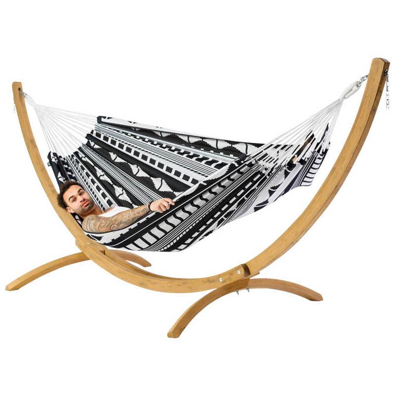 Hangmat Ibiza the Original met houten standaard