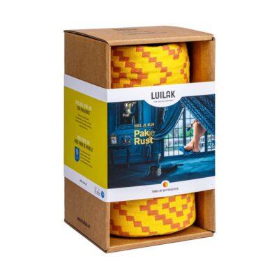 Eenpersoons hangmat tones of butterscotch pakjerust